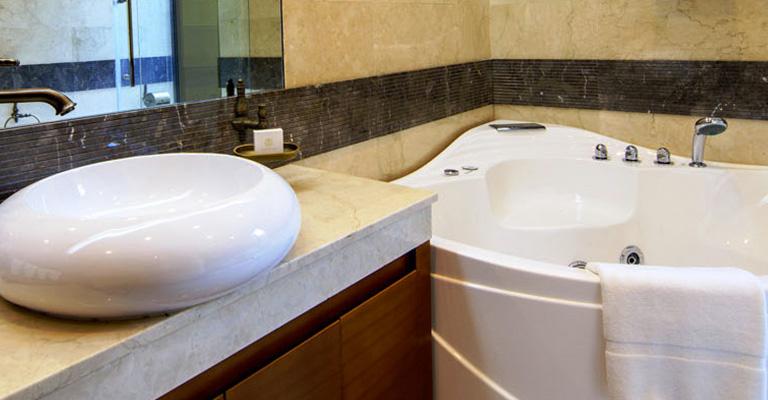 Bathroom at Five Bedroom Villas Reef Resort Bahrain