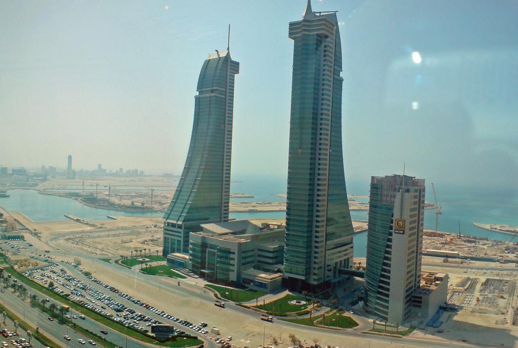 Location of Reef Resort Bahrain